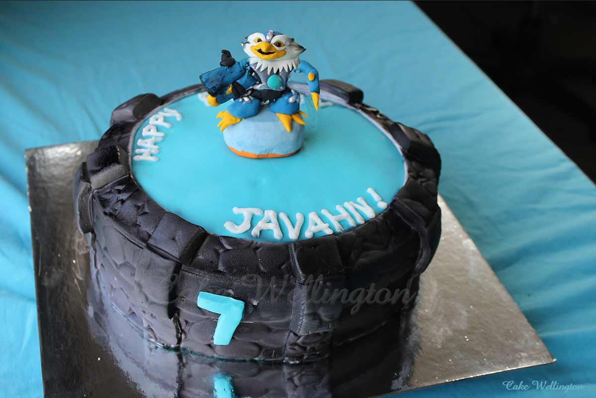 Fantastic Skylanders Birthday Cake From Cake Wellington Birthday Cards Printable Inklcafe Filternl
