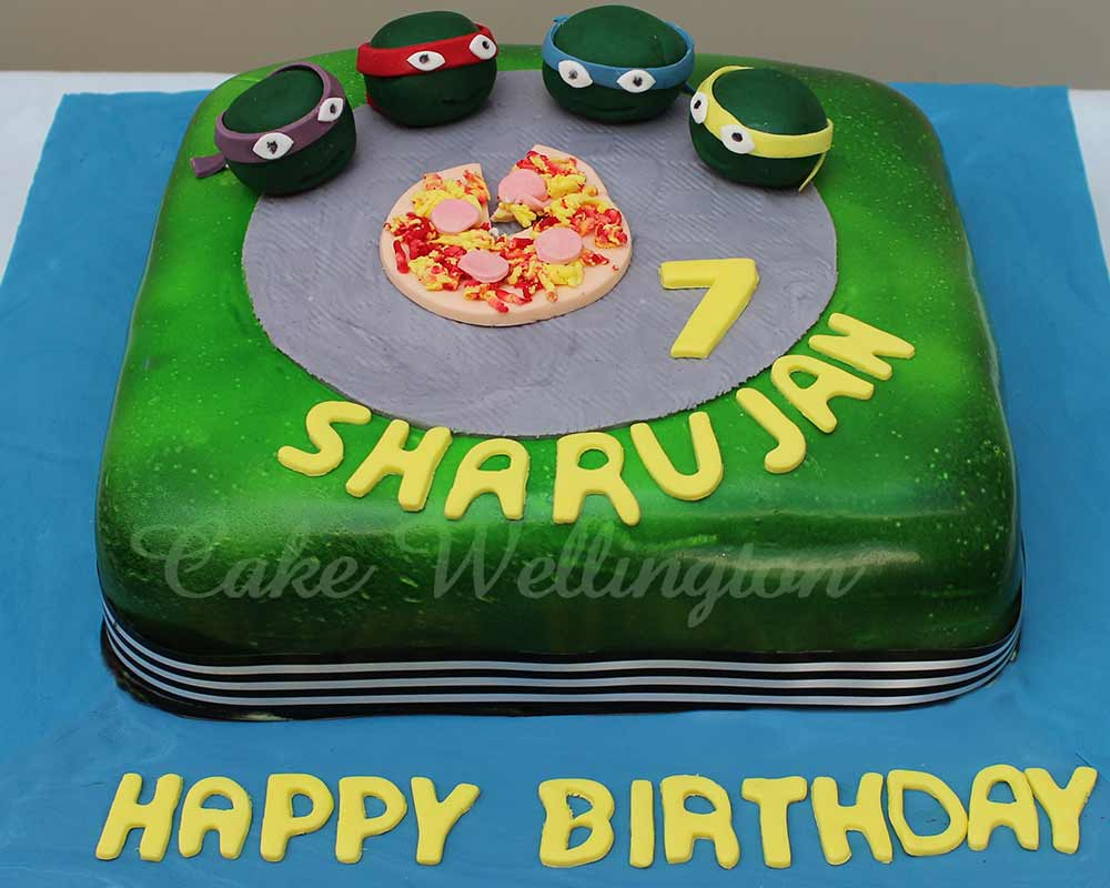 Boys Birthday Cakes 57 Ninja Turtles Cake Wellington