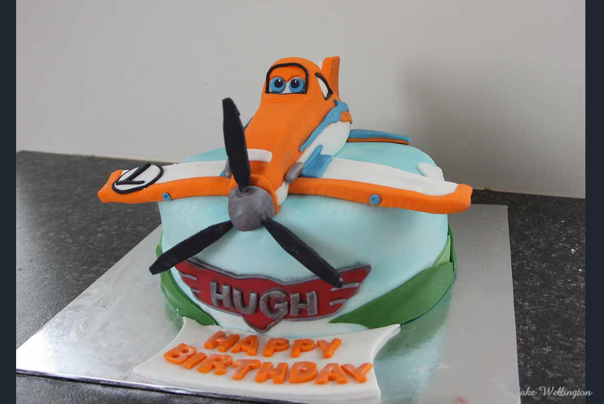 Plane Birthday Cake