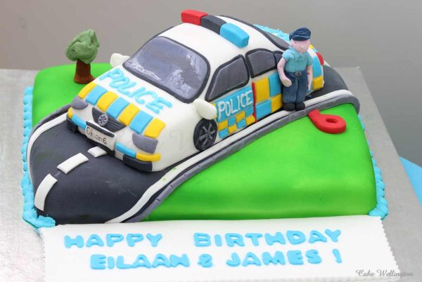 Police-Car-Birthday-Cake