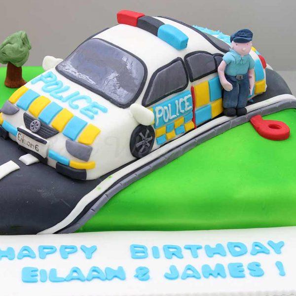 Police-Car-Birthday-Cake