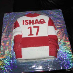 Sports T shirt Birthday Cake