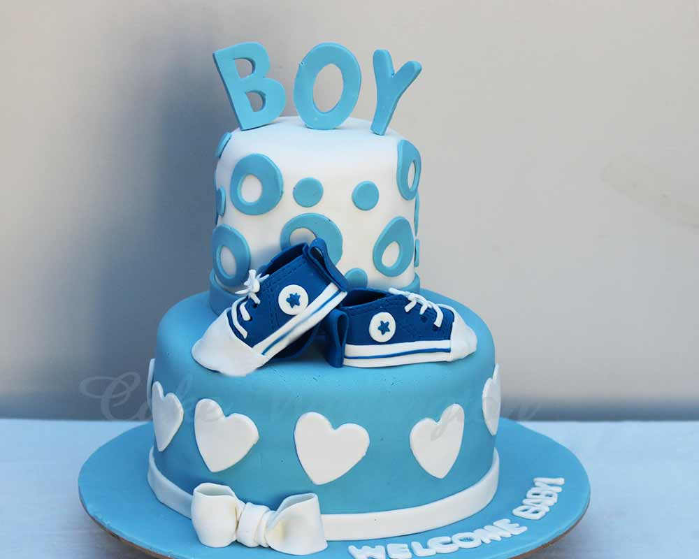 Beautiful Baby Shower Cake Makers Bakers Design In Wellington