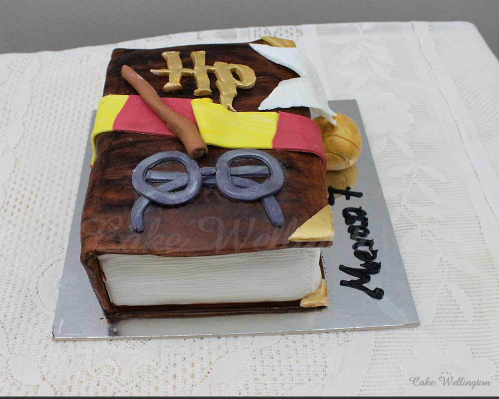 Harry Pottor Birthday Cake