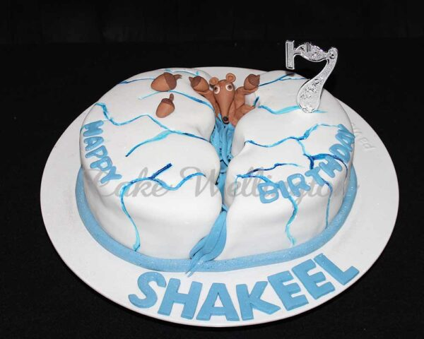 Ice Age Birthday Cake
