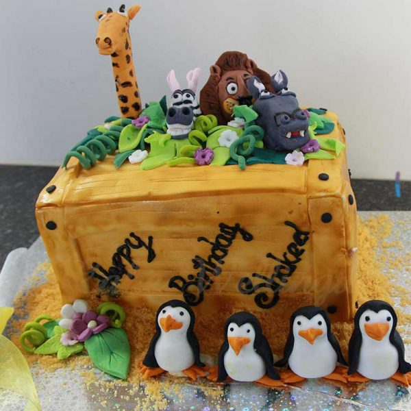 Madgascar-Birthday-Cake