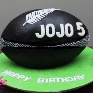 sports birthday cake from cake wellington