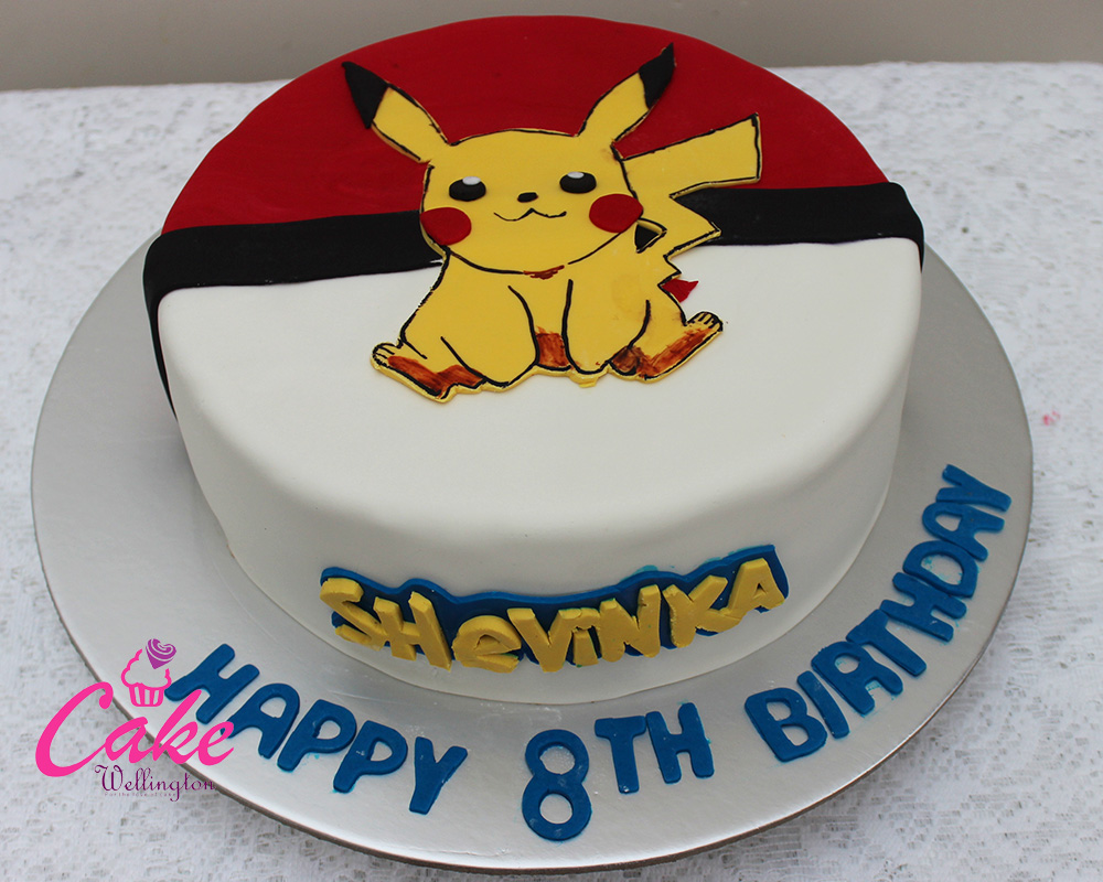 Pokemon Birthday Cake 2 Cake Wellington