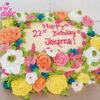 21st Birthday cake and cakes