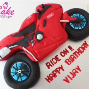motorbike sports cake