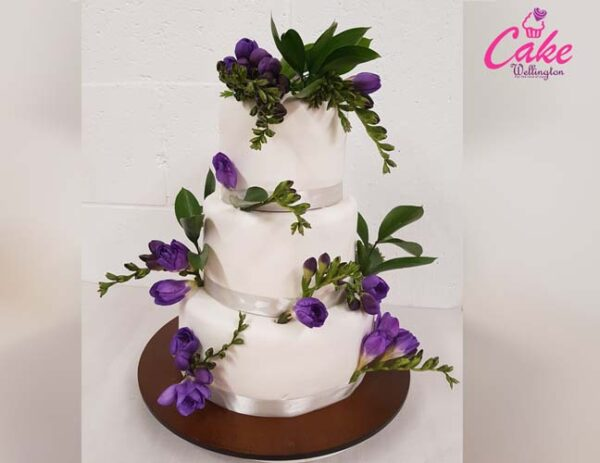 Wedding Cake from Cake Wellington