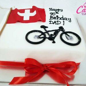 90th Birthday Cake from Cake Wellington