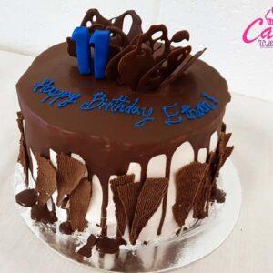 chocolate cake for birthday
