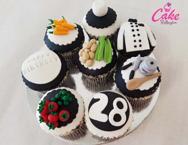 Cupcakes for Wellington