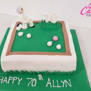 70 Birthday cake Wellington