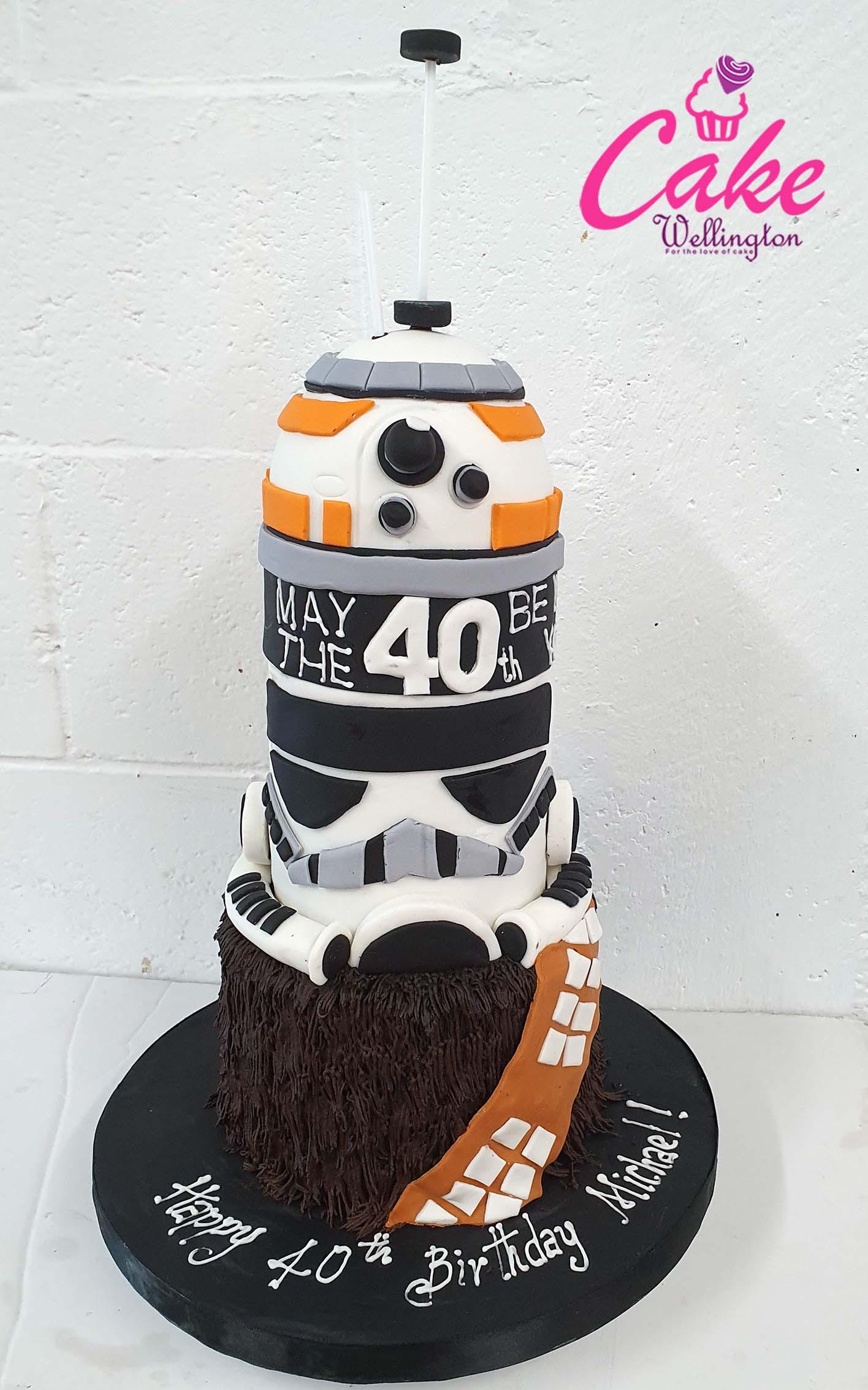 Fabulous 11 40Th Birthday Cake Cake Wellington Funny Birthday Cards Online Alyptdamsfinfo